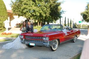 Noleggio Cadillac per Matrimonio Milano