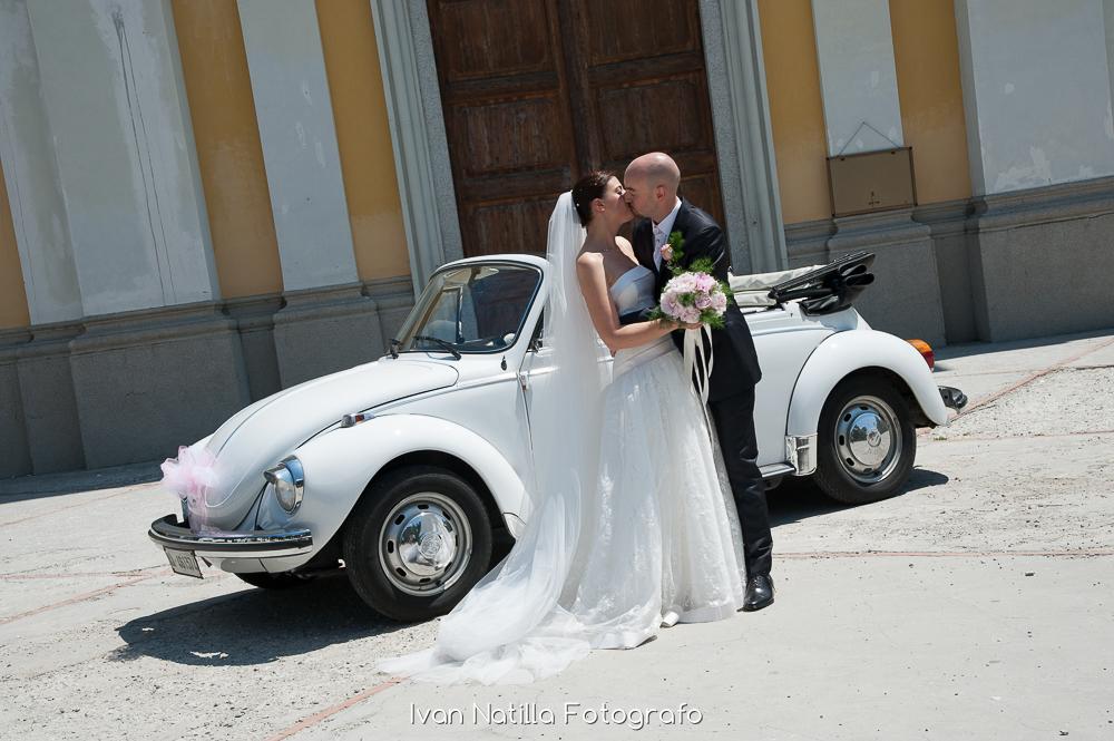 Noleggio Volkswagen Maggiolone Cabrio per Matrimonio Milano