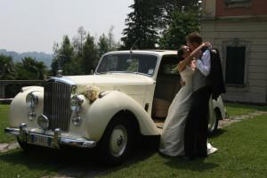 Noleggio Bentley per matrimonio Milano