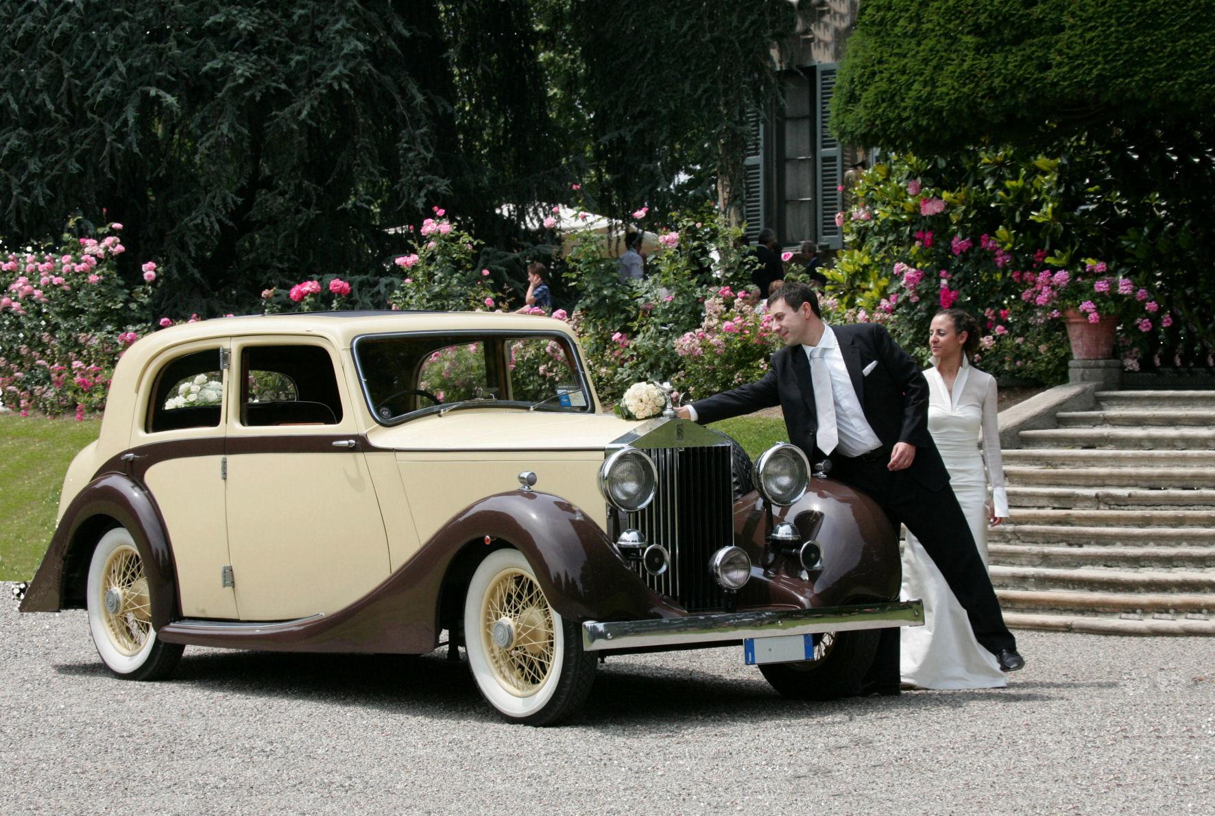Noleggio Rolls Royce 20 HP per matrimonio Milano