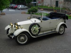 Noleggio Rolls Royce Torpedo per Matrimonio Milano