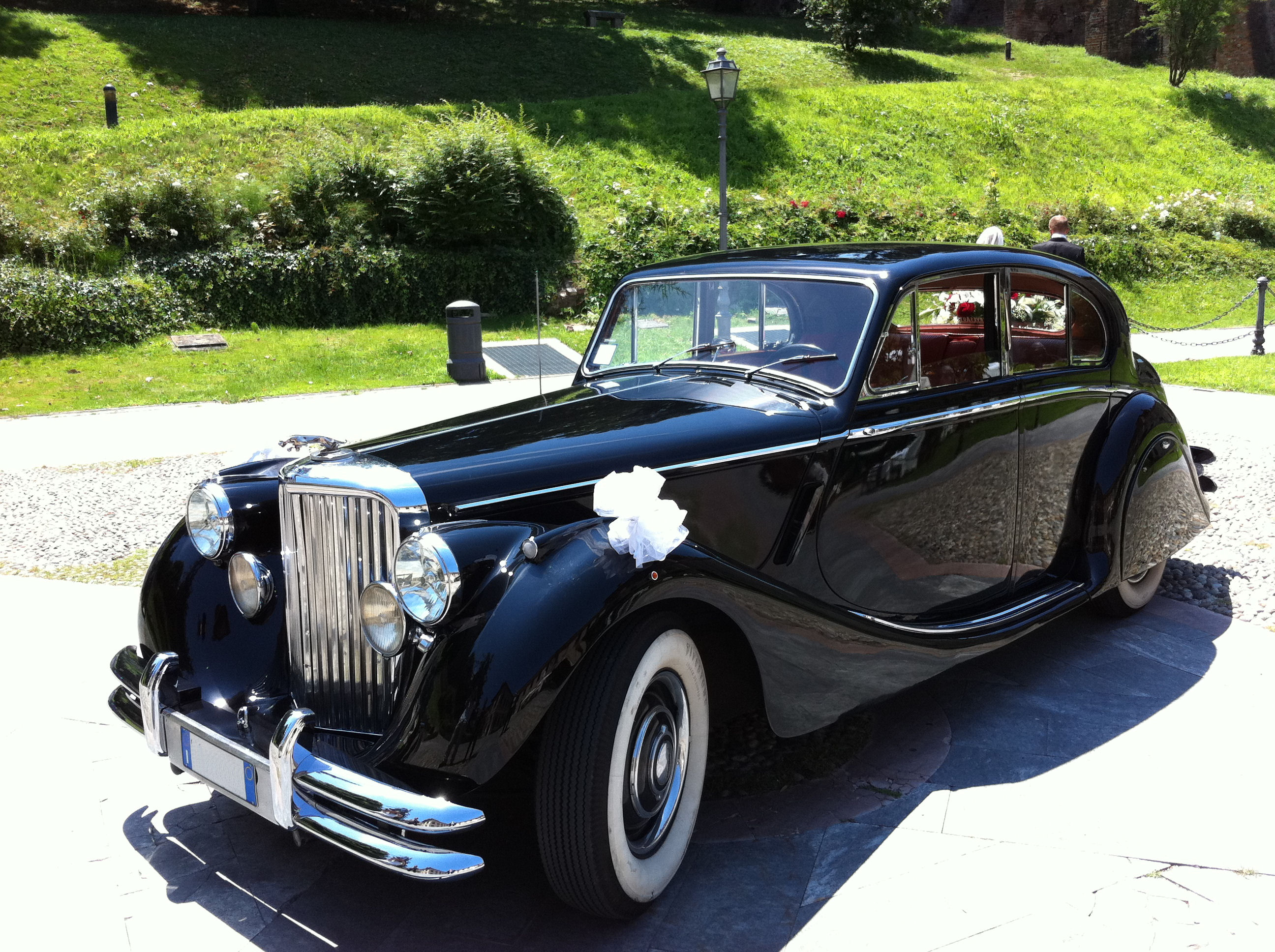 Noleggio Jaguar MK5 per matrimonio Milano