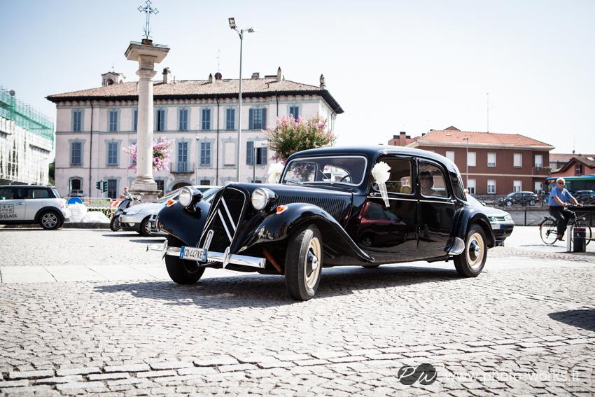 Noleggio Citroën Traction Avant per Matrimonio Milano