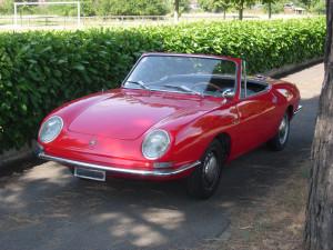 Noleggio Fiat 850 Spider per Matrimonio Milano
