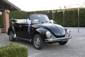 Noleggio Volkswagen Maggiolone per Matrimonio Milano